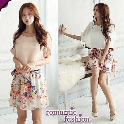 ♥ Größe 34-38 Sommerkleid Damenkleid+Rosa oder Weiß+Mädchenkleid NEU+B298-B299 ♥