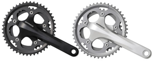 Shimano CX50 Cyclo Cross 10 Speed Cranks 36//46 All Colours And Sizes