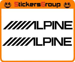 COPPIA-ADESIVI-ALPINE-PER-MOTO-AUTO-E-SUPERFICI-LISCE-TUNING