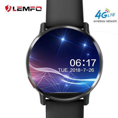 LEMFO LEMX 4G Bluetooth Smart Watch Phone 8MP CAM 16GB GPS Waterproof SIM Camera