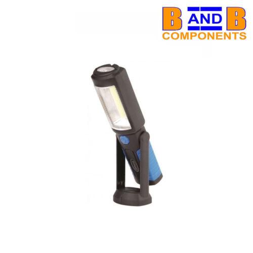 Anneau DEL Rechargeable Torche Lampe d/'Urgence travail lumière magnétique USB A1519