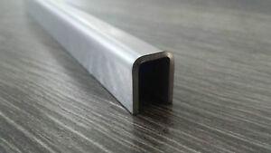 edelstahl u profil winkel leiste f r 8mm glas schiene edelstahlprofil blech top ebay. Black Bedroom Furniture Sets. Home Design Ideas