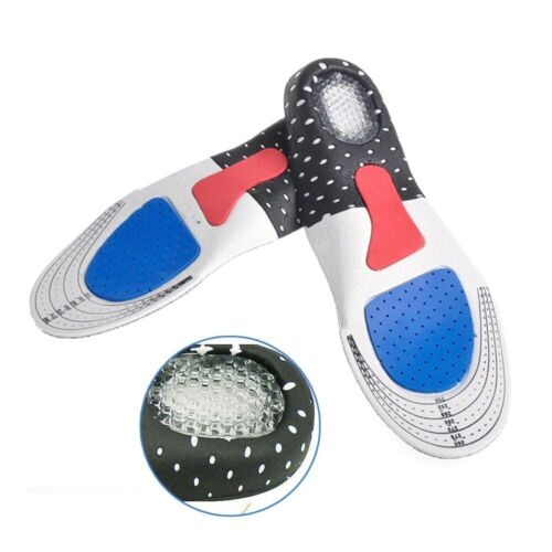 Shoe Pad Sport Running Gel Insoles Insert Cushion Ortho Arch Support Men Women