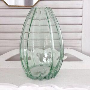 Large-21cm-Vintage-Style-Glass-Flower-Vase-Wedding-Display-Table-Decorative-gift