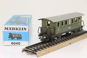 Marklin-4040-h0-voitures-Tonnerre-Boite-4051stg-2-kl-en-tole-dans-neuf-dans-sa-boite