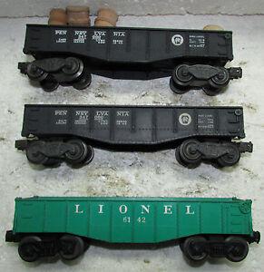 LIONEL 6462,2452,6142 CAR LOT
