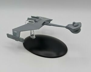 Eaglemoss-Star-Trek-67-KLINGON-D7-Class-Battle-Cruiser-Ship-w-BOX-No-Magazine