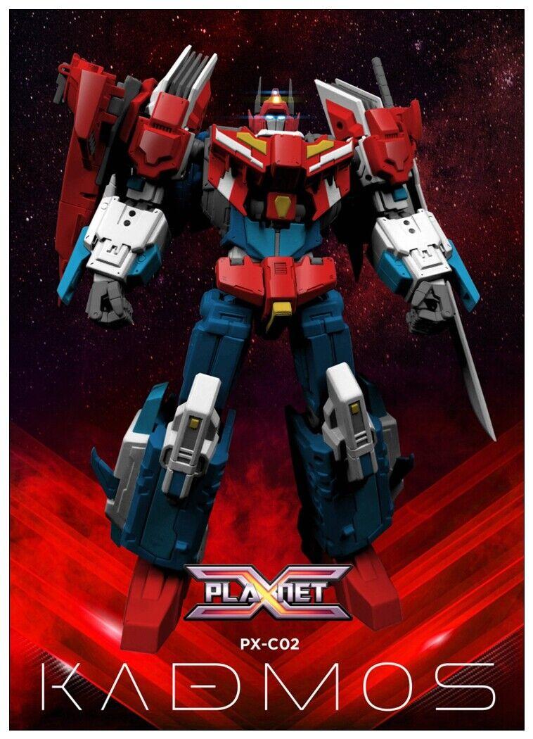 Pré-commande Planet X Transformers PX-C02 Kadmos IDW Star Saber action figure toy