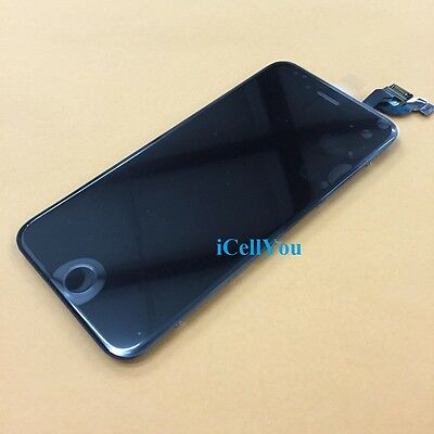 "Black LCD Touch Screen Display Digitizer Replacement for iPhone 6 Plus 5.5"" 6+"