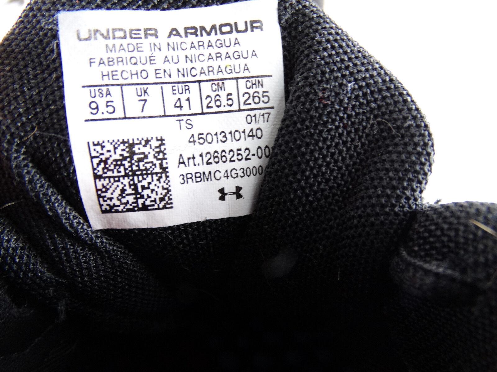 Under Armour Micro G Assert VI Damen Damen Damen Laufschuhe schwarz-pink-weiß EU 41 US 9,5 1fc606