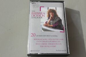 The-Barbara-Dickson-songbook-20-greatests-hits-cassette-tape-CE2287