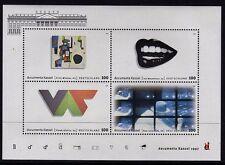 WEST GERMANY MNH STAMP SET DEUTSCHE BUNDESPOST MODERN ART 1997 SG MS2780
