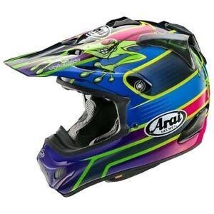 Arai MX-V Barcia Special Edition Frog BamBam MXV Motocross Race Helmet Adults