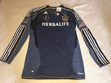 Adidas MLS LA Galaxy AUTHENTIC TECHFIT 2010 Soccer Jersey BECKHAM  Size 10 XL