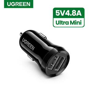 Ugreen-Mini-USB-Car-Charger-Adapter-4-8A-Dual-Port-Fast-Charger-Fr-iPhone-X-8-LG