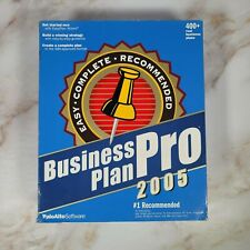 Business plan pro 2005 1 1 this is critical
