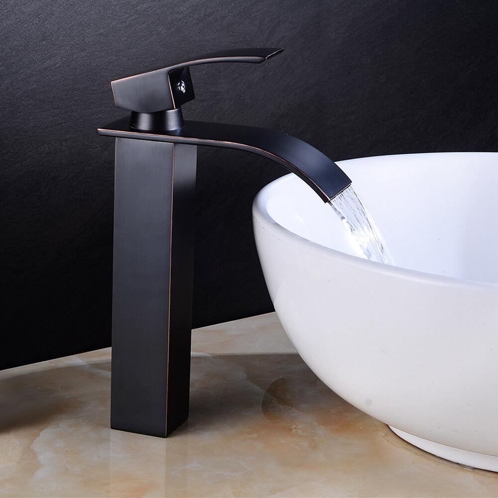 Cascade bassin Mixer Robinet salle de bain évier mono mono mono solide bain en laiton  MG 0ff920