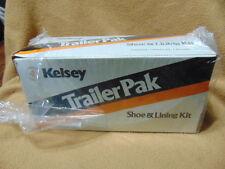 Kelsey Trailer Brake Shoe and Lining Kit No.200 10in brake