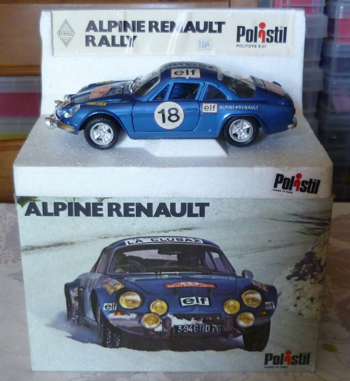 Polistil alpine renault s21 25
