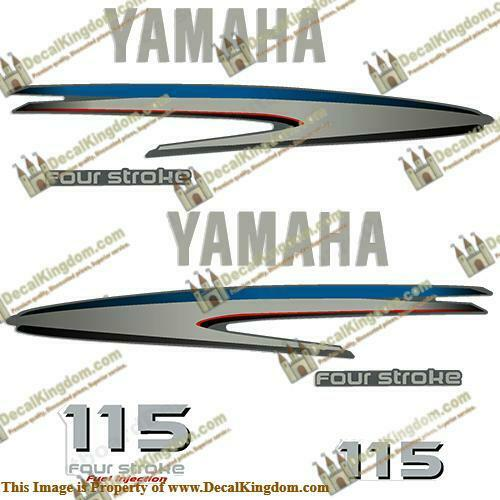 Yamaha 115hp 4-stroke  Out Board Decal Kit 3M Marine Grade  online at best price
