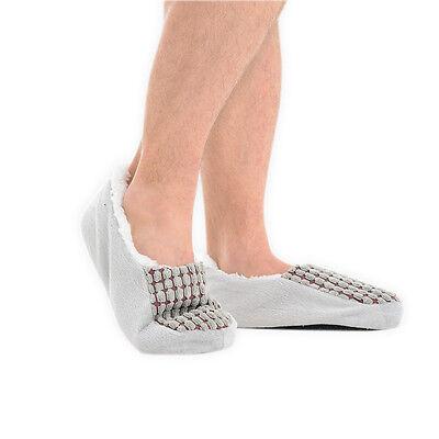 Para Hombre acogedor Fleece forrado Zapatillas Mula Mocasines UK Size 6-11/EU 41-46