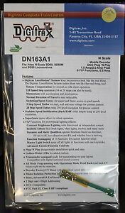 DIGITRAX DN163A1 Mobile Decoder DCC Plug /'N Play for ATLAS N Scale