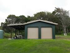 24x24x10 Steel Building Simpson All Galvalume Metal Building Kit Garage Storage