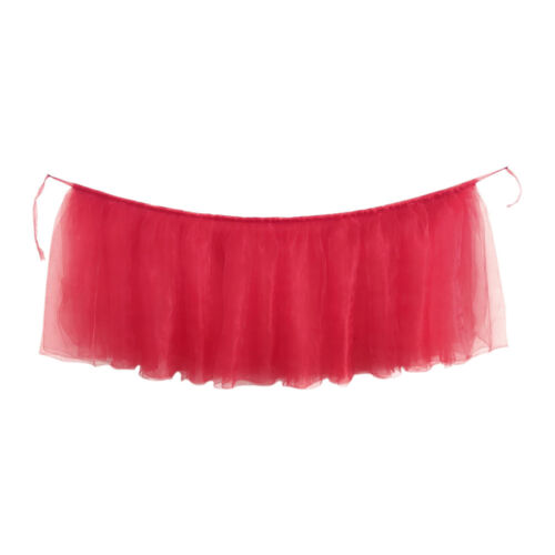 TUTU Tulle Table Skirt Tableware Cover Babe Shower Wedding Birthday Party Decor