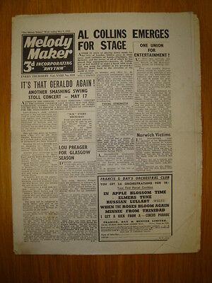 Melody Maker 1942 #459 Jazz Swing Lou Preager Geraldo