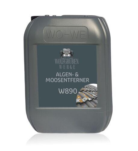 ✅ Algen /& Moosentferner ✅ Dachreiniger Untdergrundvorbereitung ✅ W890