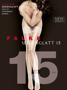 55b05c6b9 FALKE hold-ups black with lace decorative mod 41591 SEIDENGLATT 15 ...
