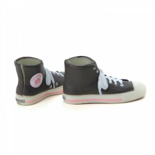 momoko doll accessory petworks High cut sneaker gray x peach icon  Japan 3