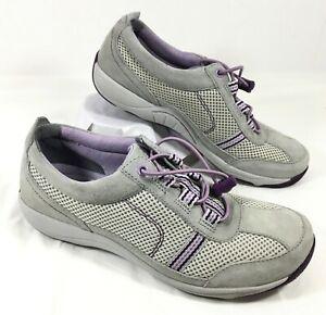 Purple Suede Sneakers HELEN Sz 37