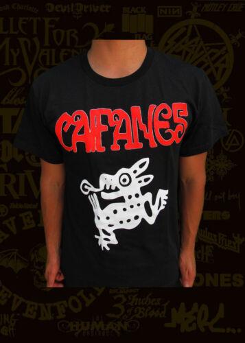 CAIFANES JAGUARES T-SHIRT PUNK ROCK MEN/'S SIZES