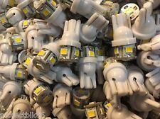 (8)WARM WHITE LED WEDGE BASE 8V LAMP/MC 2255/MC 7270 MC 2500/MC 7200/METERS