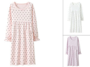 Details about Girls Kids Children Pyjamas long sleeve Nightwear Cotton  Night Dress Nightie c2149f793