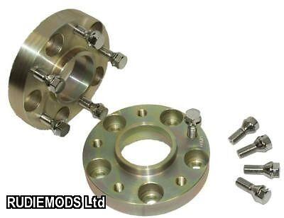 25 mm Hubcentric Rueda Espaciadores 1 par Perno en para adaptarse a Bmw serie 3 E36 E46 M3 Inc