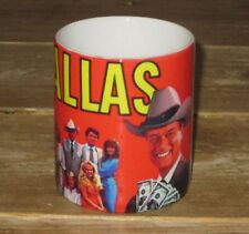 Dallas Programa de TV con JR Ewing Great Rojo TAZA