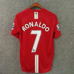 4079c0adb3 Image is loading Ronaldo-Manchester-United-2007-Jersey-7