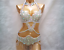 D-amp-DD-CUP-1732-Belly-Dance-Costume-Indian-Outfit-Bollywood-Set-Bra-Belt-Carnival miniature 6