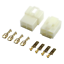miniature 6 - Connettore automotive crimpare Spina Faston 6.3mm 1-6 pin Auto Moto terminale
