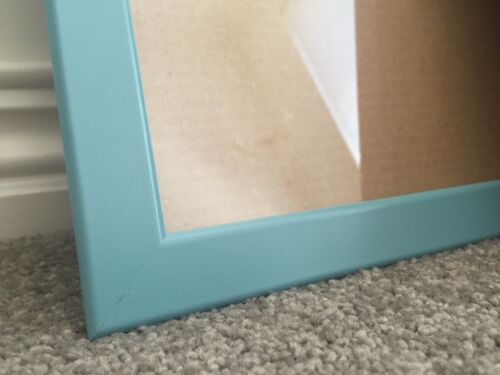 USE BLU TACK 1 x SUPER LIGHT BABY PINK OR BLUE ~ A3 Photo Picture TIMBER FRAME