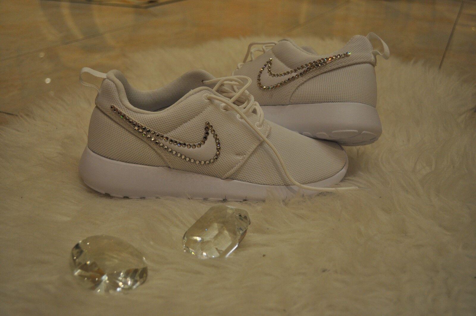 Crystal 35 Nike Roshe One Gr. 35 Crystal Glitzer mit Swarovski Elements Neu c8d009