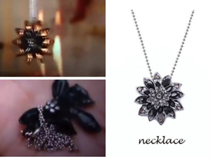 MJ-Gift-The-Black-Dahlia-Necklace-Spider-Man-Far-From-Home-Cosplay-Prop-Jewelry