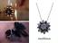 MJ-Gift-The-Black-Dahlia-Necklace-Spider-Man-Far-From-Home-Cosplay-Prop-Jewelry thumbnail 1