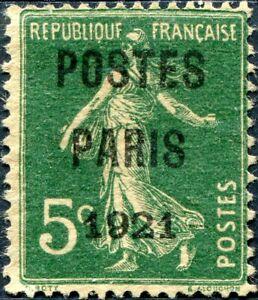 FRANCE-PREOBLITERE-N-26-Sans-Gomme-Utilise