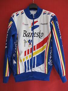 Nalini Ancienne Banesto Campagnolo Cycliste Veste Hiver Vintage wqpvvZ