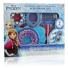 Disney Frozen Ultimate Create Your Own Scrapbook Set 4088FZ NIP