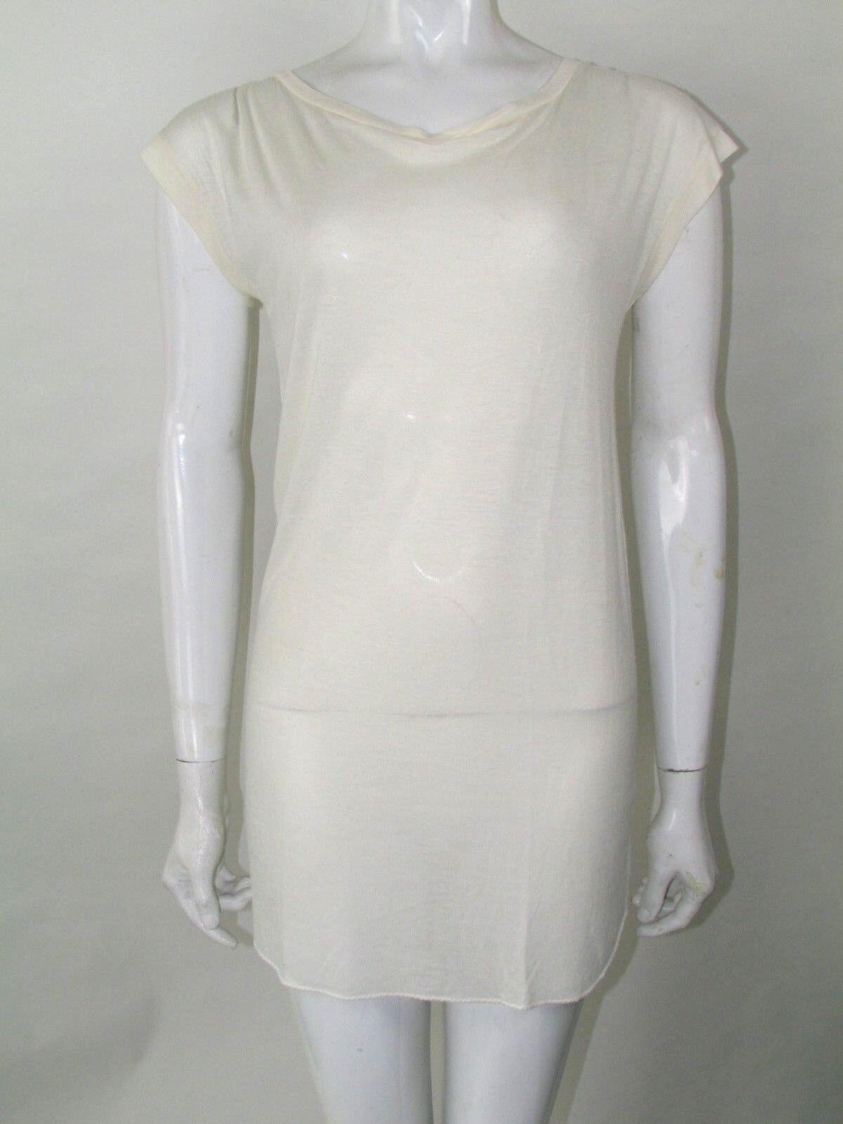 Chloe taglia S blouse Slip Dress Top Avorio