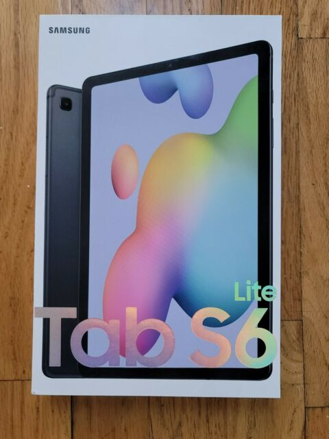 Samsung Galaxy Tab S6 Lite, 128GB, Oxford Gray (Wi-Fi) w/ S Pen - NEW ONOPENED